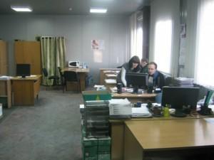 Рабочий процесс в офисе